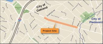 Map Of Oakland Project Grand Ave Grand Ave City Of Oakland California