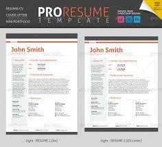professional resume cv by bilmaw graphicriver