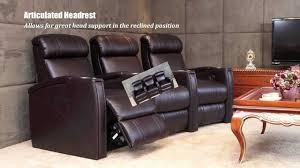 berkline home theater seating fusion collection jive 1013 home theater seating youtube