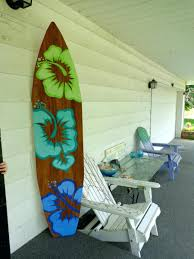 Wall Murals Amazon by Wall Ideas Surfboard Wall Art Home Decorations Wooden Surfboard