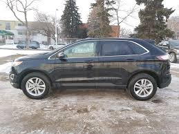 ford crossover black new 2017 ford edge sel 4 door sport utility in edmonton ab 7eg5652