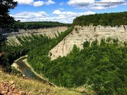 Letchworth State Park Map by Letchworth State Park The