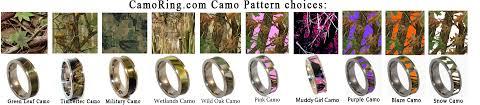 camouflage wedding rings pink camo wedding rings wedding definition ideas