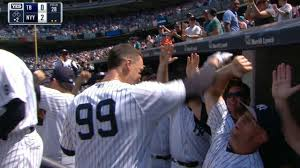 judge follows austin with first career homer youtube