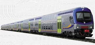 carrozze treni vitrains 1094 set 3 carrozze due piani nuova livrea trenitalia fs