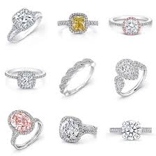 types of engagement rings styles of engagement rings 10031