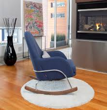 Leather Rocking Chairs For Nursery Modern Jackson Rocking Chair Nursery Furniture By Monte Design