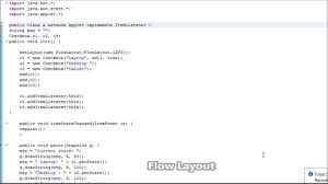 java null layout manager swing layouts in java flow layout in hindi n english language youtube