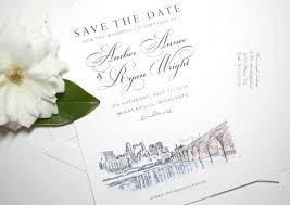 wedding save the date cards minneapolis skyline save the date cards