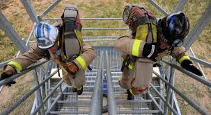 Firefighters Stair Climb by Rising To The Challenge Firefighters Compete For Annual