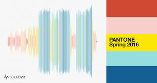 pantone 2016 colors pantone spring 2016 colors the soundviz blog