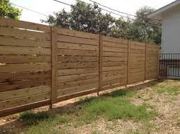 wood color horizontal privacy fence how to design horizontal