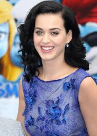 katy perry specialist eye makeup blue dress katy perry her blue