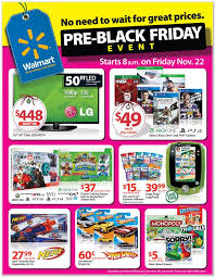 walmart s pre black friday sale ad scan starts this friday