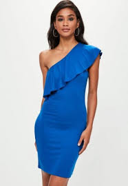 prettylittlething tuxedo style cut out shoulder bluewater 40 00