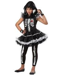 Skeleton Halloween Costume For Kids Ballerina Skeleton Kids Costume Ballerina Costumes
