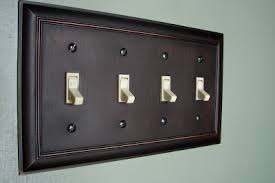 oil rubbed bronze light switch cosmogirl s emporium no cost switch plate cover makeover