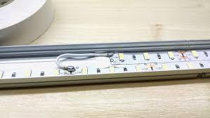 make well lit work spaces diy led under cabinet strips u2013 designer