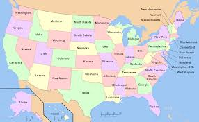 united states of america map with states and major cities filemap of usa with state names svg map of the united states