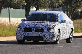 volkswagen gli spyshots 2019 volkswagen jetta gli has gti twin exhaust and 18