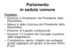 parlamento seduta comune parlamento parlamento ppt scaricare