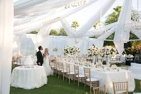 wedding linens wedding design ideas for both bare and covered reception tables