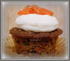 carrot cake cupcakes with cream cheese frosting u0026 candied carrots