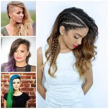 hair undercut female edgy hairstyles for long hair 2017 edgy long undercut hairstyles
