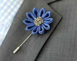 Lapel Flower Yellow Carnation Lapel Pin Mens Lapel Flower Boutonniere