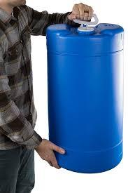 amazon com 15 gallon emergency water storage barrel bpa free