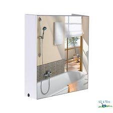 Bathroom Medicine Cabinet With Mirror And Lights by Lighted Medicine Cabinet Ebay