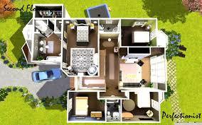 image result for sims 3 house blueprints 4 bedrooms prepossessing
