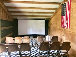 home movie theater signs little farmstead our barn hayloft home movie theater