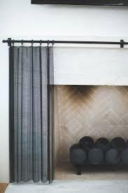 vermillion way fireplace screen detail pinterest fireplace