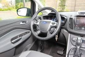 Ford Escape Dashboard - review 2013 ford c max hybrid video the truth about cars