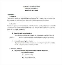 13 contingency plan templates u2013 free sample example format