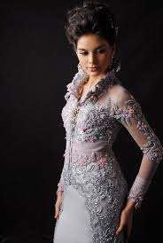 wedding dress designer indonesia modern kebaya evolution of traditional dress style