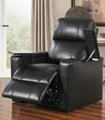recliners rider leather media recliners