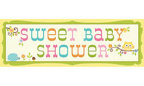 baby shower banner baby shower banners yard signs party city