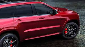 jeep grand cherokee custom interior 2017 jeep grand cherokee trackhawk hellcat night youtube