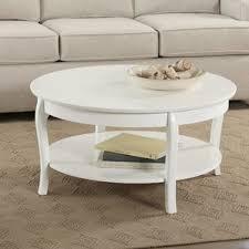 white coffee tables you u0027ll love wayfair