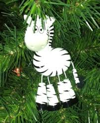 zebra ornament as a zebra