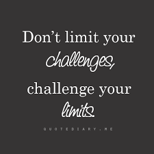 Challenge Your Don T Limit Your Challenges Challenge Your Limits W I S E