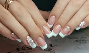 white french nails the best images bestartnails com