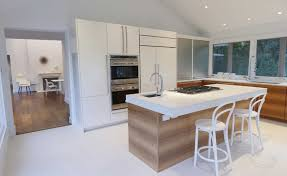 centre island house contemporary white kitchen contemporary