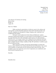 collection of solutions cover letter for cook job with no