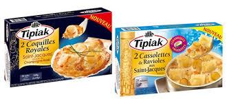 comment cuisiner les coquilles st jacques congel馥s tipiak plats cuisinés surgelés le partenaire de vos fêtes de fin