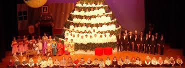 chattanooga boys choir u0027s u201csinging christmas tree u201d