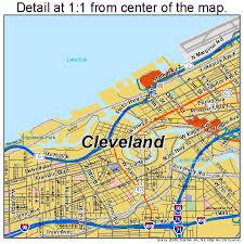 map of cleveland best 25 map of cleveland ohio ideas on map of ohio