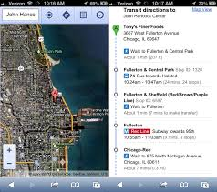 Google Map Chicago by Replacing Ios 6 Maps Hands On With Mapquest Bing Waze Google